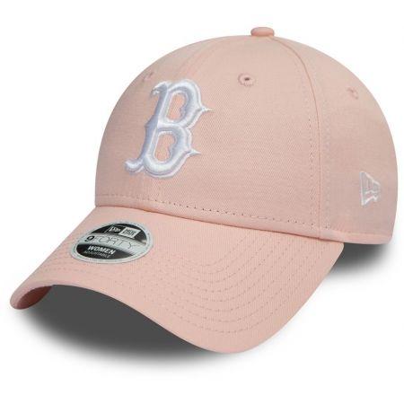 Dámská klubová kšiltovka - New Era 9FORTY W MLB LEAGUE ESSENTIAL BOSTON RED SOX - 1