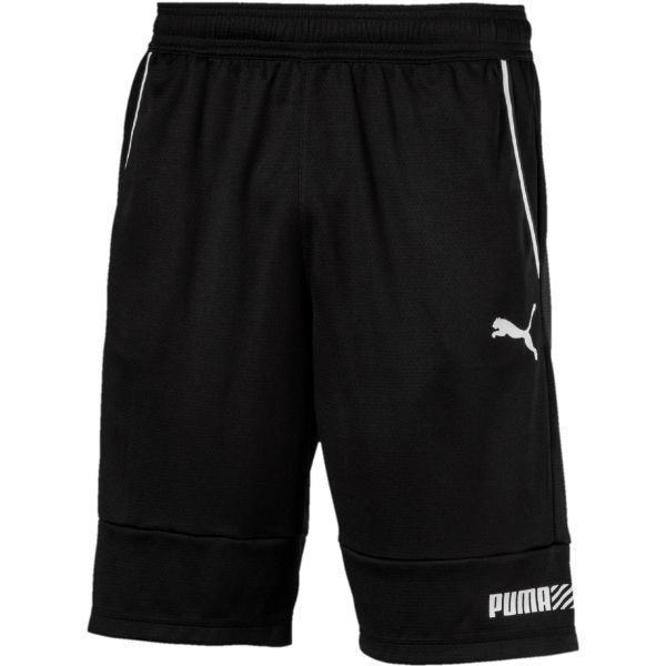 Puma TEC SPORTS INTERLOCK SHORT čierna XL - Pánske šortky