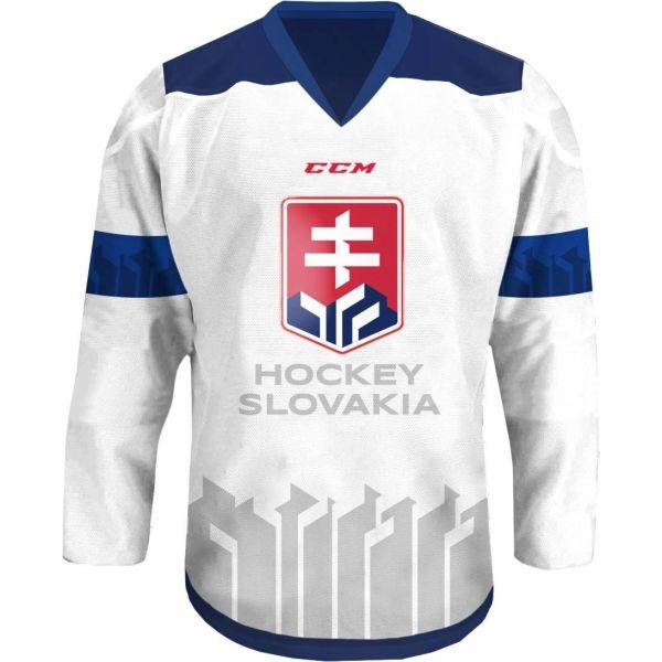 CCM FANDRES HOCKEY SLOVAKIA biały L - Koszulka hokejowa