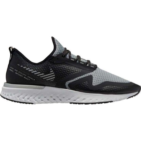 Nike ODYSSEY REACT 2 SHIELD czarny 9.5 - Obuwie do biegania męskie