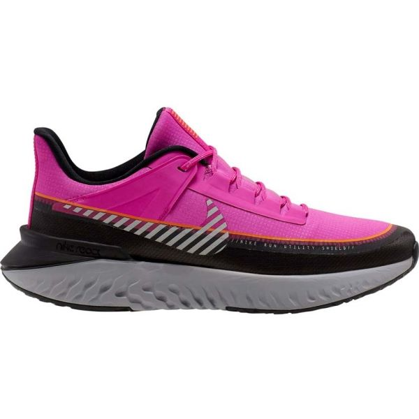 Nike LEGEND REACT 2 SHIELD W różowy 7.5 - Obuwie do biegania damskie