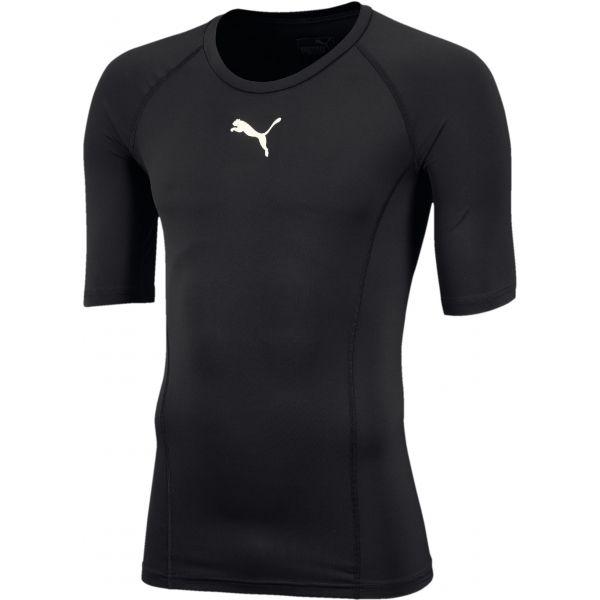 Puma LIGA BASELAYER TEE SS černá S - Pánské funkční triko
