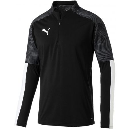 Puma CUP TRAINING 1 4 ZIP TOP - Men's sports T-shirt