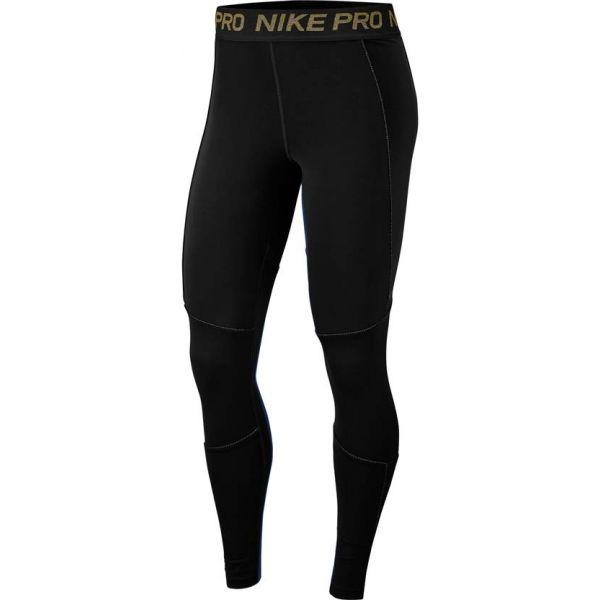Nike NP FIERCE 7/8 TIGHT černá L - Dámské legíny