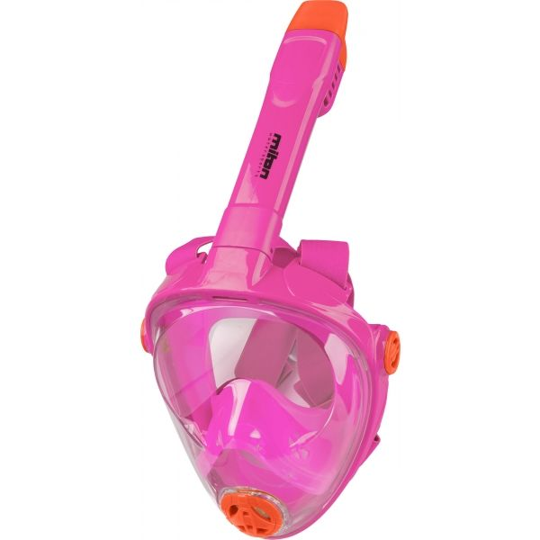 Miton UTILAFS różowy S - Maska do snorkelingu juniorska