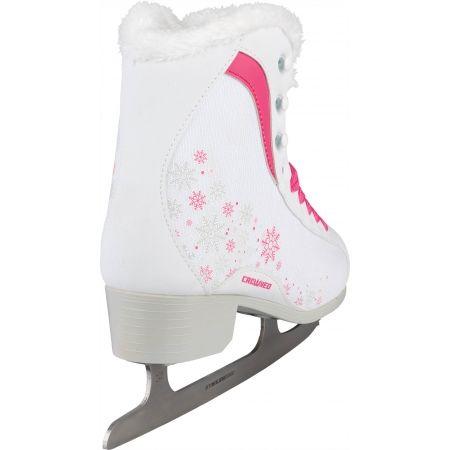 Dievčenské fashion korčule na ľad - Crowned GLAMOUR JR - 3