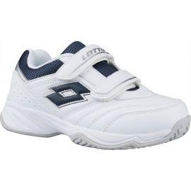 Lotto COURT LOGO JR VELCRO - Detská tenisová obuv