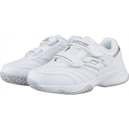 Dětská tenisová obuv - Lotto COURT LOGO JR VELCRO - 2