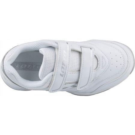 Dětská tenisová obuv - Lotto COURT LOGO JR VELCRO - 5