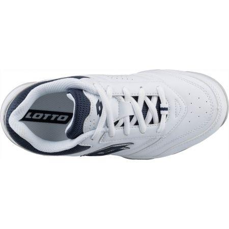 Detská tenisová obuv - Lotto COURT LOGO JR LACES - 5