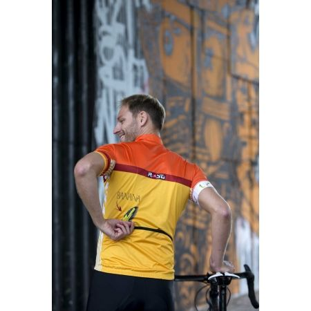Pánsky cyklistický dres - Rosti BANANA - 5