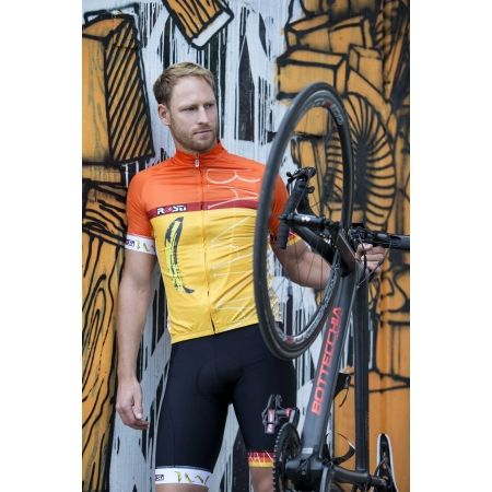 Pánsky cyklistický dres - Rosti BANANA - 4