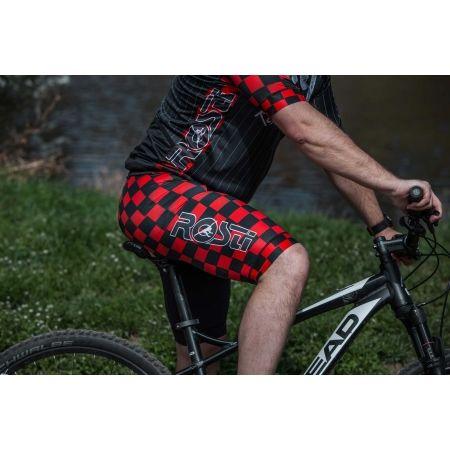 Koszulka rowerowa męska - Rosti WARRIOR KR ZIP - 6