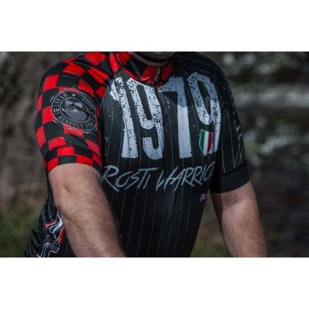Koszulka rowerowa męska - Rosti WARRIOR KR ZIP - 5