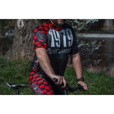 Koszulka rowerowa męska - Rosti WARRIOR KR ZIP - 4