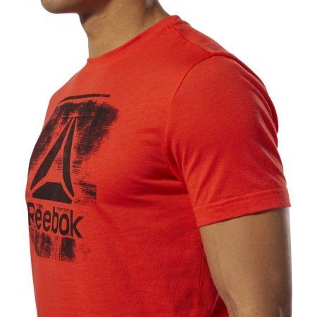 Pánske tričko - Reebok GS STAMPED LOGO CREW - 7