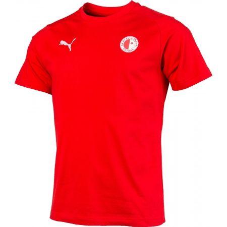 Pánske športové tričko - Puma LIGA CASUALS TEE SLAVIA - 2