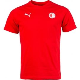 Puma LIGA CASUALS TEE SLAVIA - Men's sports T-shirt