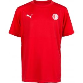 Puma LIGA TRG JSY JR SLAVIA - Children's sports T-shirt