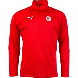 Puma LIGA TRG 1/4 ZIP SLAVIA - Men's sports sweatshirt