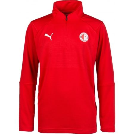 Puma LIGA TRAINING 1/4 ZIP TOP JR - Hanorac de copii