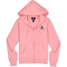 Converse STAR CHEVRON EMB FZ HOODIE FT - Women's sweatshirt