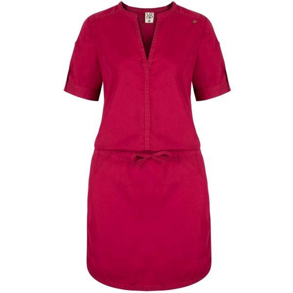 Loap NIVA ružová Dámske šaty XS LOAP
