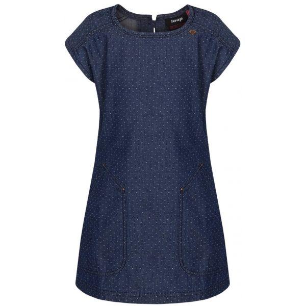 Loap NELKA sötétkék 158-164 - Lányos ruha