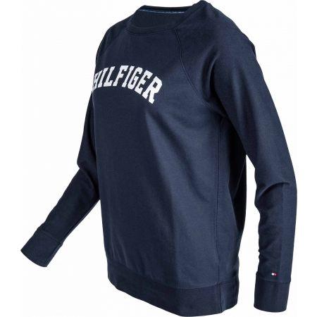 Dámské triko - Tommy Hilfiger ICONIC LWK CN TRACK TOP LS - 2