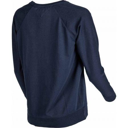 Dámské triko - Tommy Hilfiger ICONIC LWK CN TRACK TOP LS - 3