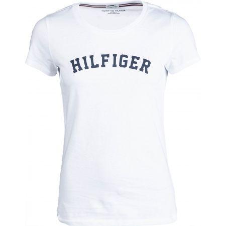 Tommy Hilfiger SS TEE PRINT - Koszulka damska