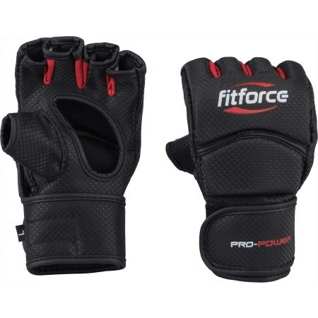 Fitforce PRO POWER - MMA fingerless gloves