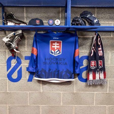 Juniorský hokejový dres - CCM JR HOKEJOVÝ DRES SLOVAKIA - 2
