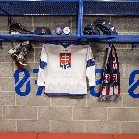 Hokejový dres - CCM FANDRES HOCKEY SLOVAKIA - 2