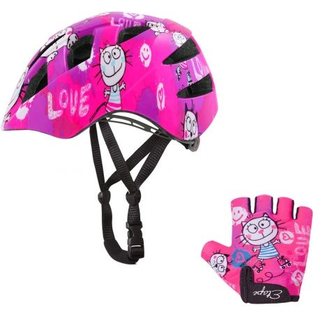 Kids' cycling helmet - Etape KITTY - 4