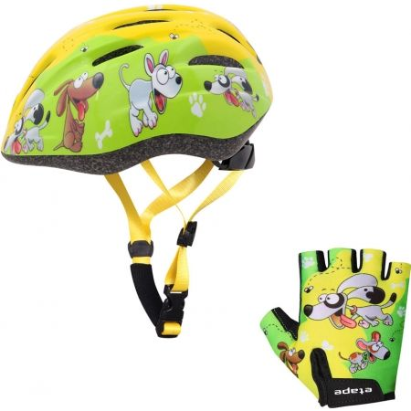 Kids' cycling gloves - Etape REX GLOVES KIDS - 4