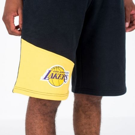 Pánske šortky - New Era NBA COLOUR BLOCK LOS ANGELES LAKERS - 2