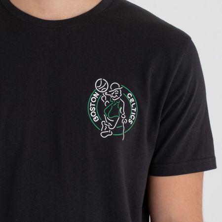 Pánské tričko - New Era NBA NEON LIGHTS BOSTON CELTICS - 2