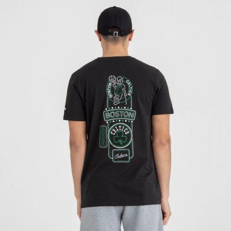 Pánské tričko - New Era NBA NEON LIGHTS BOSTON CELTICS - 4