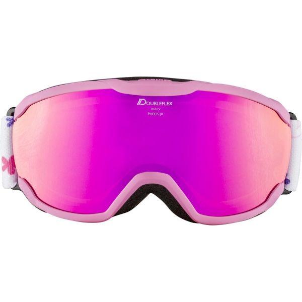 Alpina Sports PHEOS JR HM rózsaszín NS - Gyerek síszemüveg