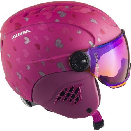 Detská lyžiarska prilba - Alpina Sports CARAT LE VISOR HM - 1