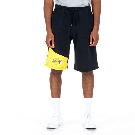 Pánske šortky - New Era NBA COLOUR BLOCK LOS ANGELES LAKERS - 1