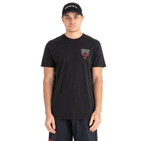 New Era NBA NEON LIGHTS CHICAGO BULLS - Men's T-shirt