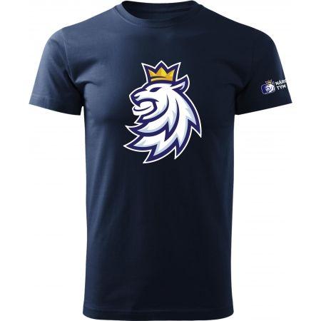 Pánske tričko - Střída LOGO LEV CIHT - 1