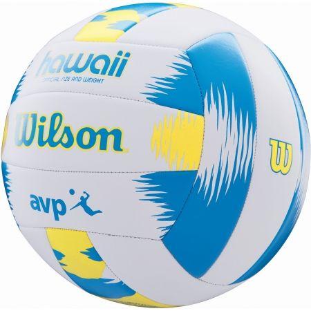 Топка за плажен волейбол - Wilson AVP HAWAII VB BLYE - 3