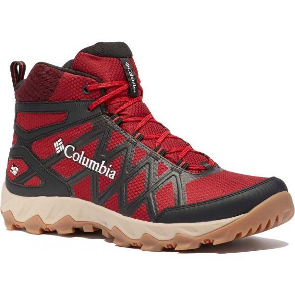 Columbia PEAKFREAK X2 MID OUTDRY červená 8.5 - Pánské outdoorové boty