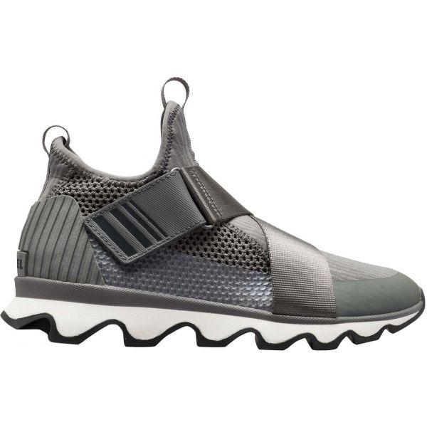 Sorel KINETIC SNEAK šedá 7.5 - Dámská obuv