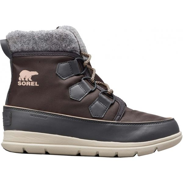 Sorel EXPLORER CARNIVAl tmavě šedá 9.5 - Dámská zimní obuv