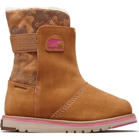 Sorel YOUTH RYLEE  CAMO - Dětské zimní boty