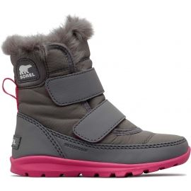 Sorel CHILDRENS WHITNEY VELCRO - Ghete de iarnă fete
